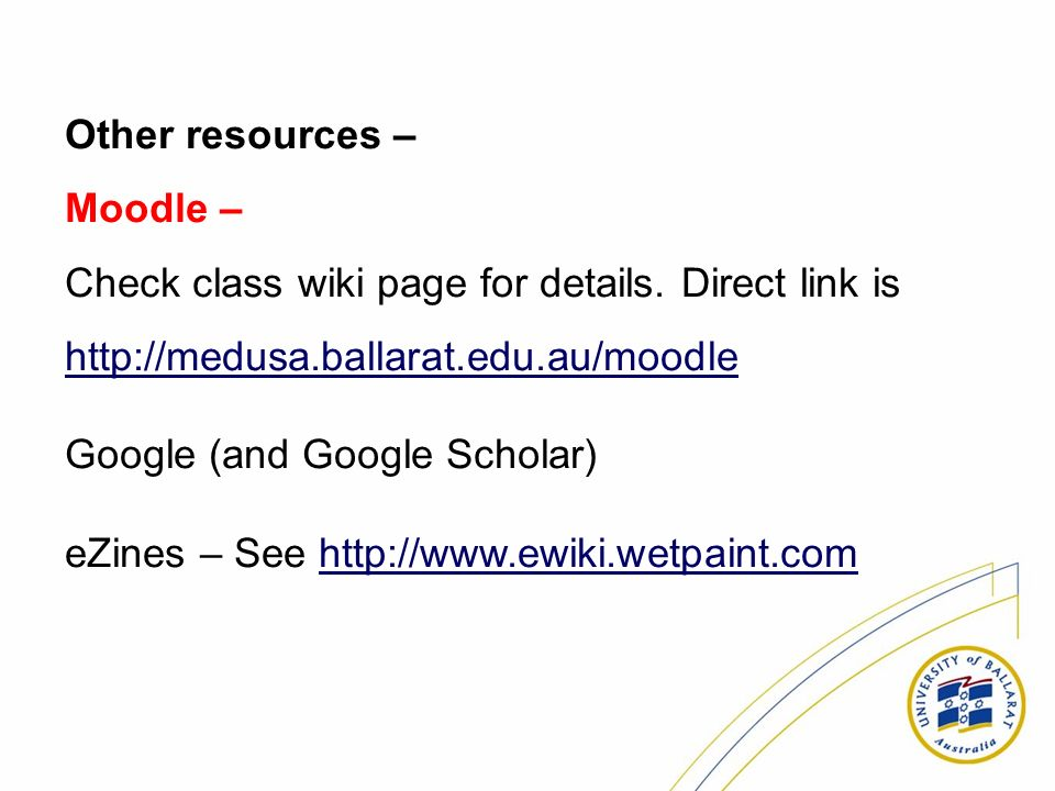 Check class wiki page for details. Direct link is