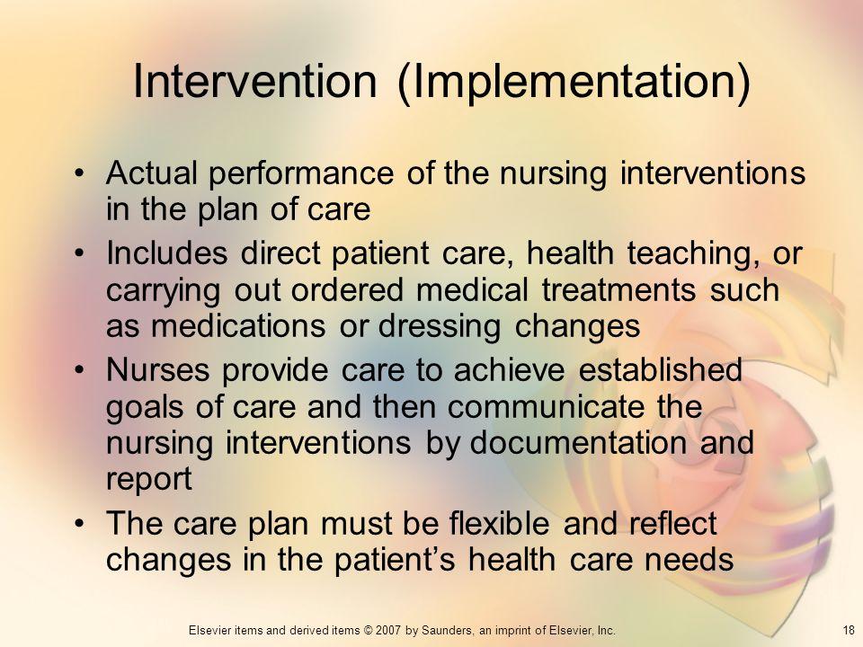 Intervention (Implementation)