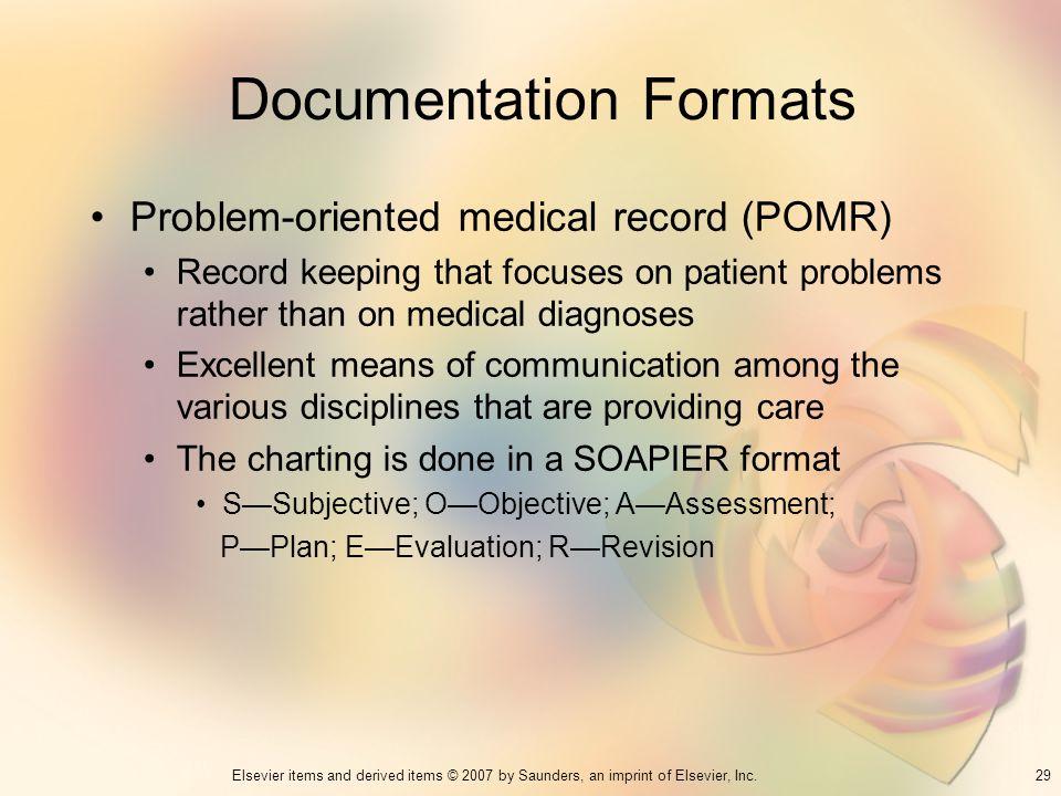Documentation Formats