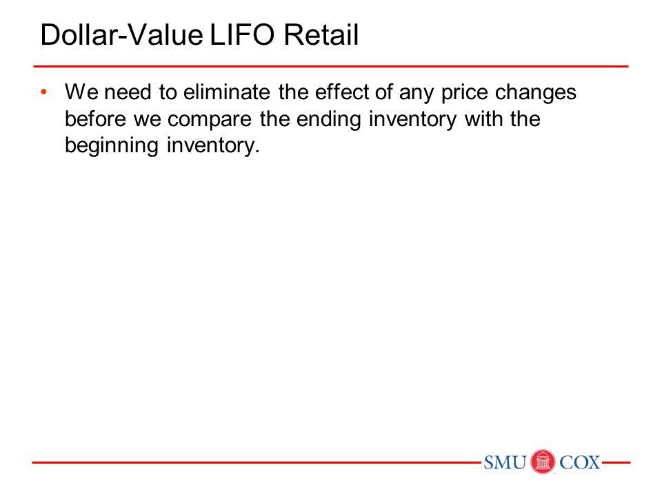 Dollar-Value LIFO Retail