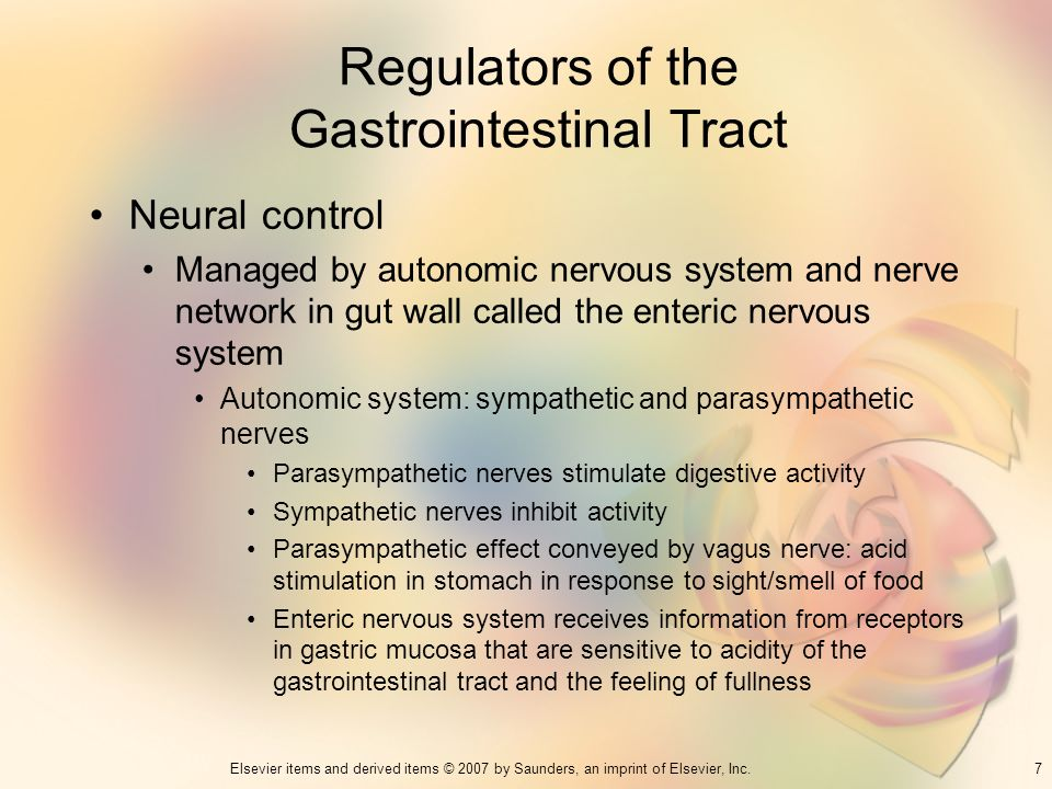 Regulators of the Gastrointestinal Tract
