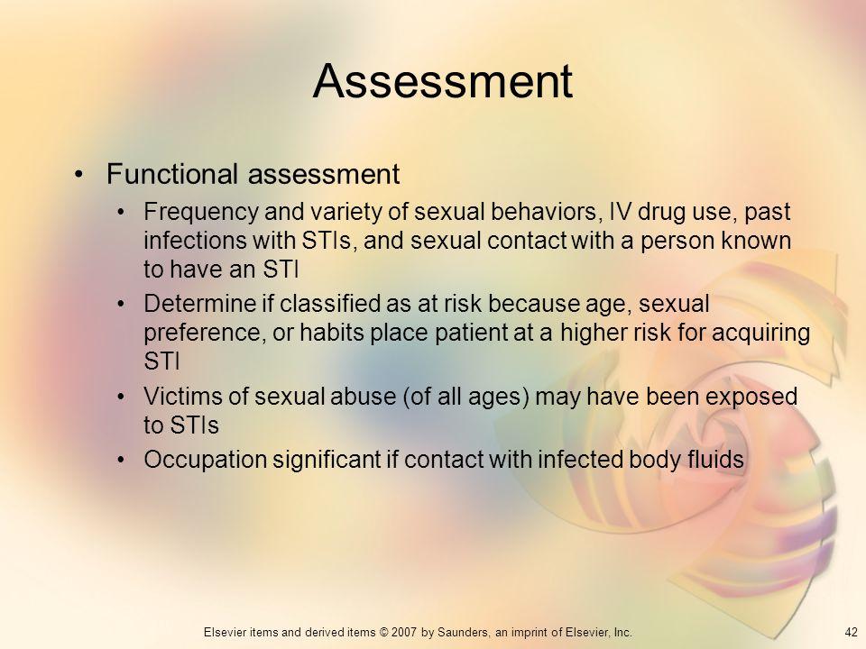 Assessment Functional assessment