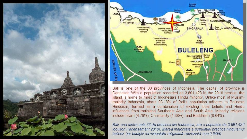 Bali is one of the 33 provinces of Indonesia