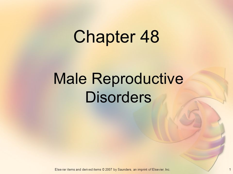 Male Reproductive Disorders
