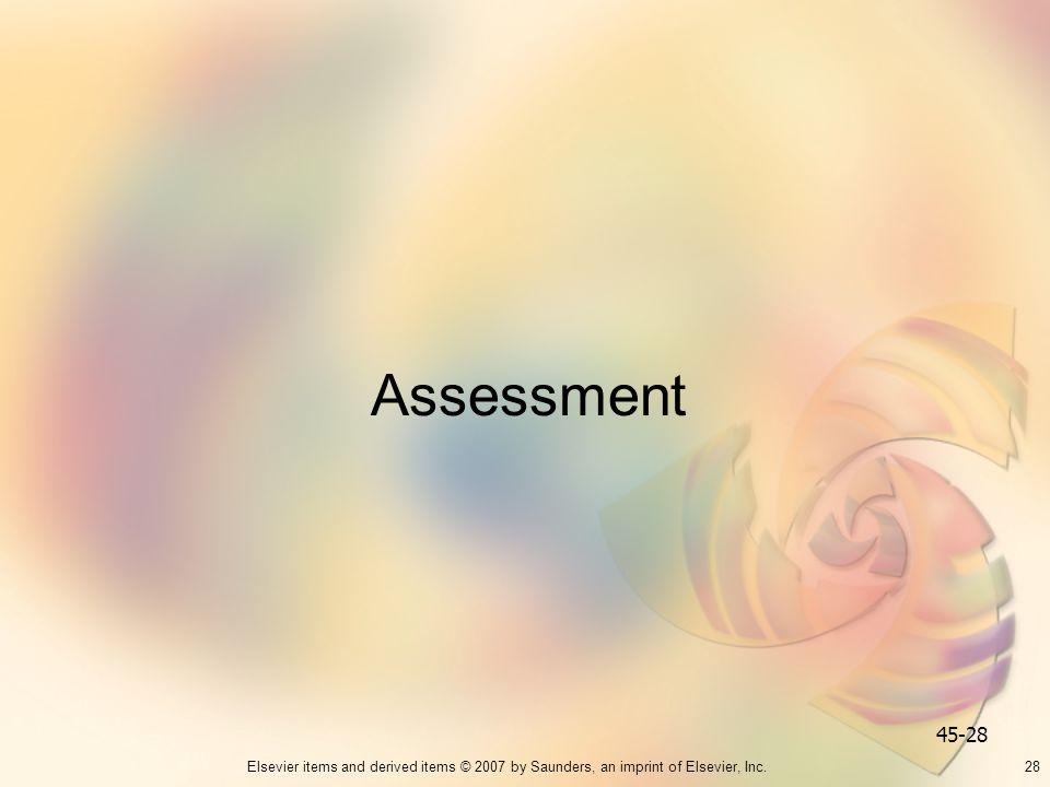 Assessment 45-28 28