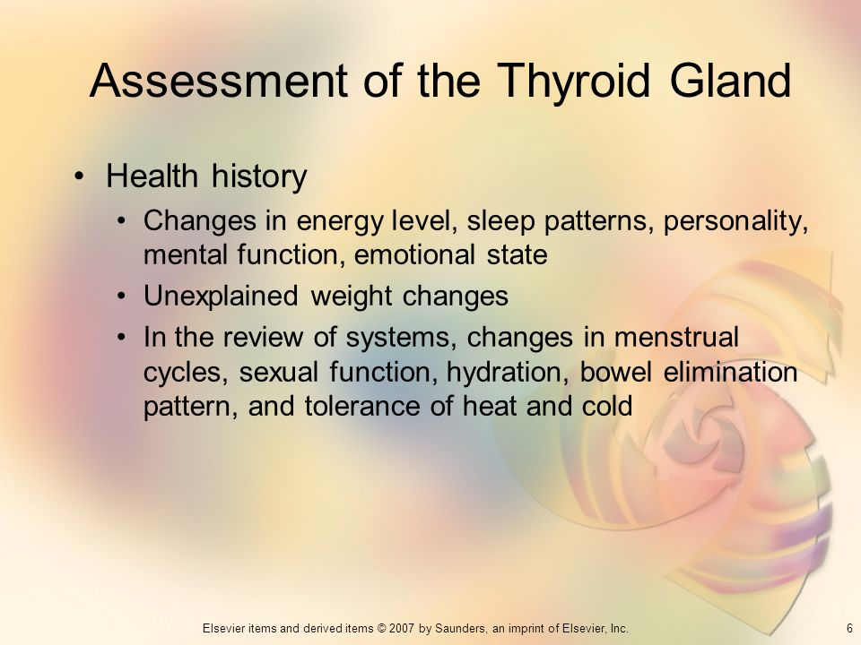 Assessment of the Thyroid Gland