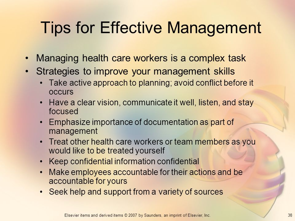 Tips for Effective Management