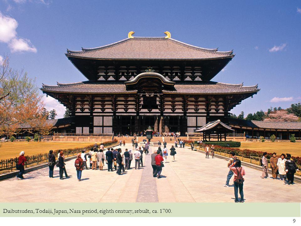 Daibutsuden, Todaiji, Japan, Nara period, eighth century, rebuilt, ca