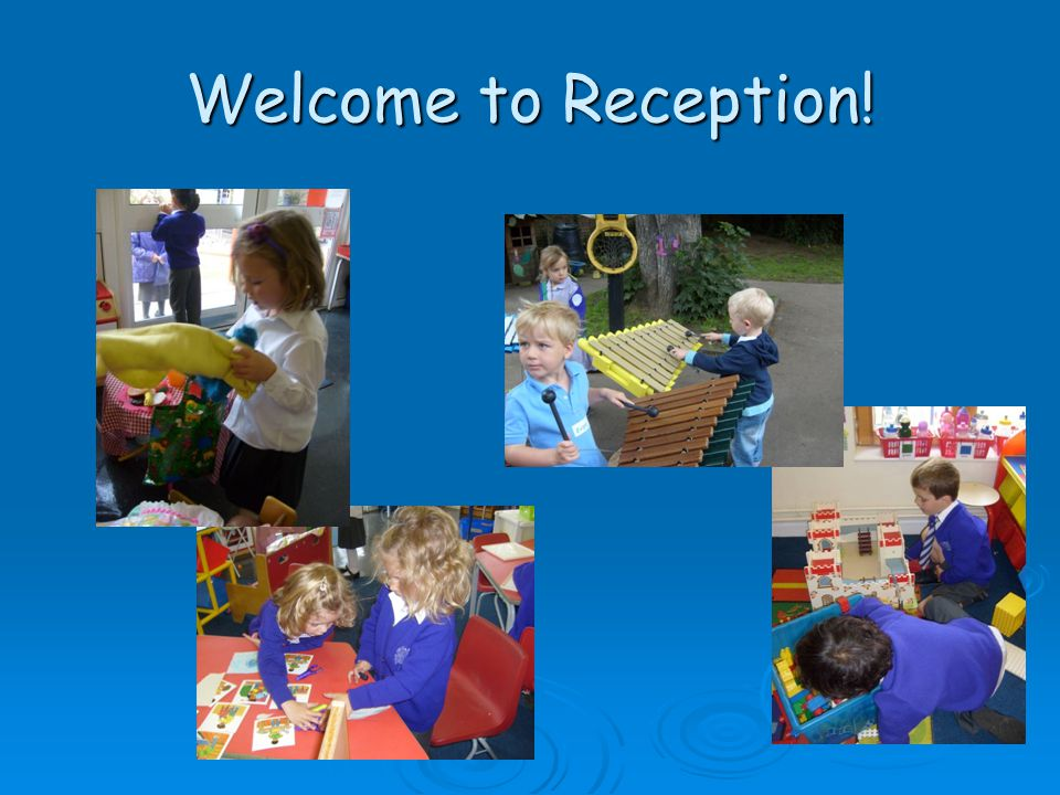 Welcome to Reception!