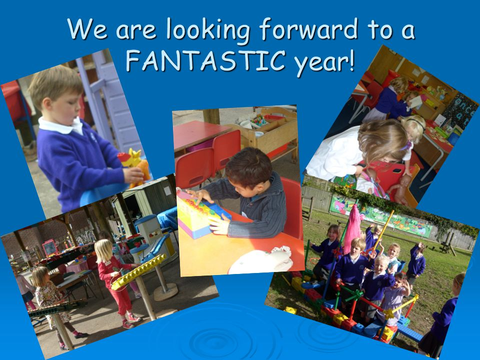 We are looking forward to a FANTASTIC year!