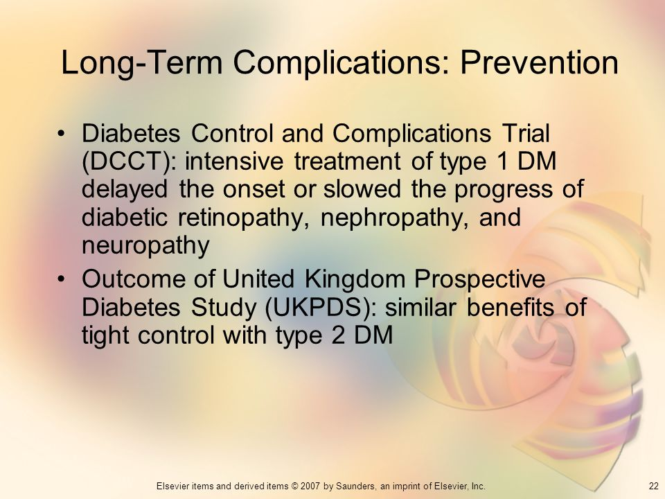 Long-Term Complications: Prevention