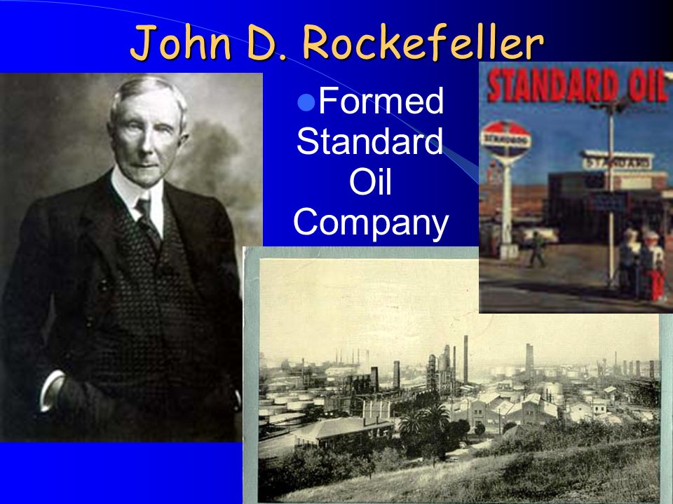 Formed Standard Oil Company