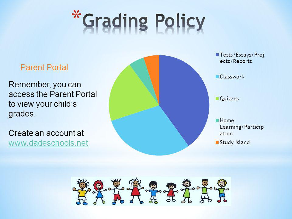 Grading Policy Parent Portal