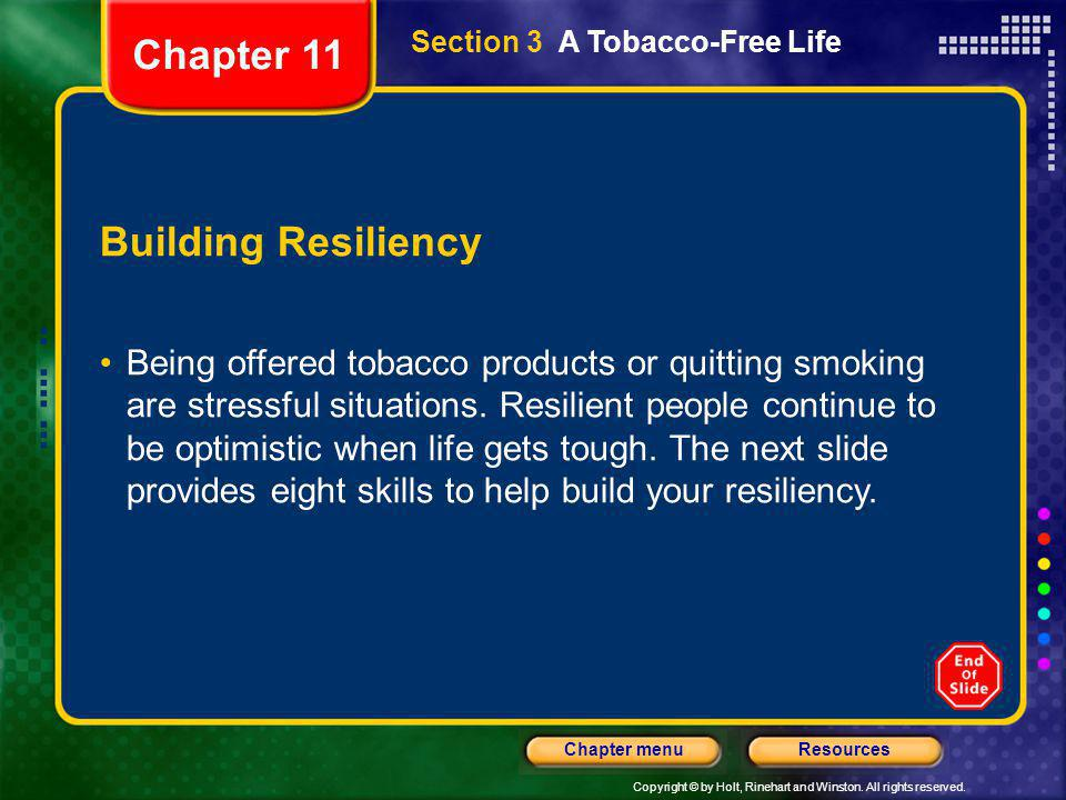 Chapter 11 Building Resiliency