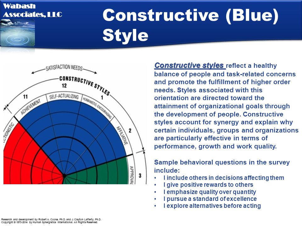 Constructive (Blue) Style