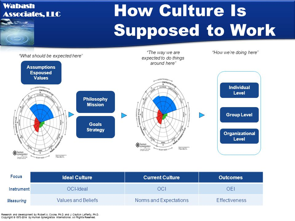 How Culture Is Supposed to Work