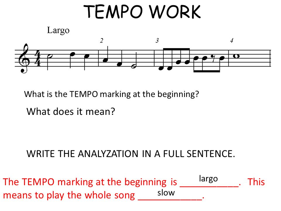 TEMPO WORK What does it mean