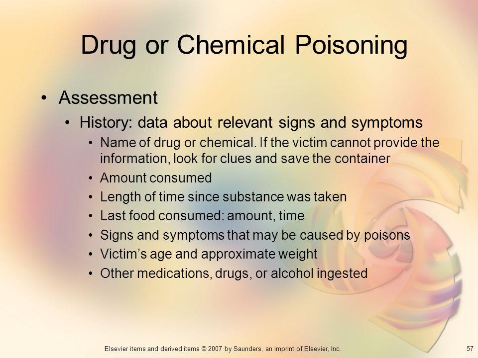 Drug or Chemical Poisoning