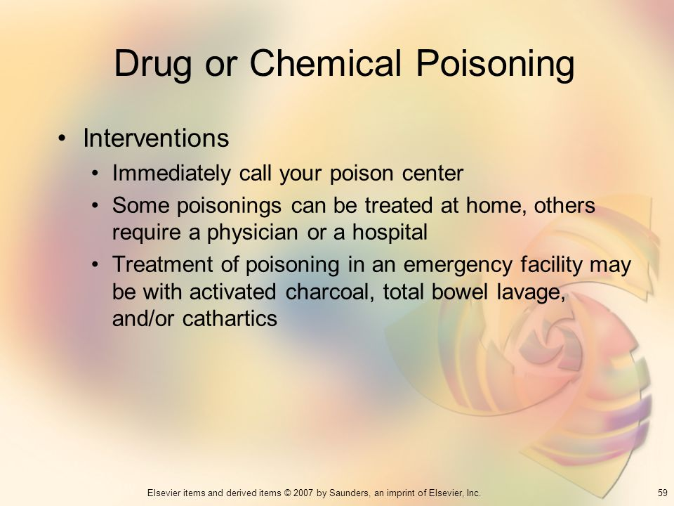 Drug or Chemical Poisoning