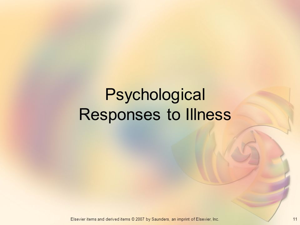 Psychological Responses to Illness