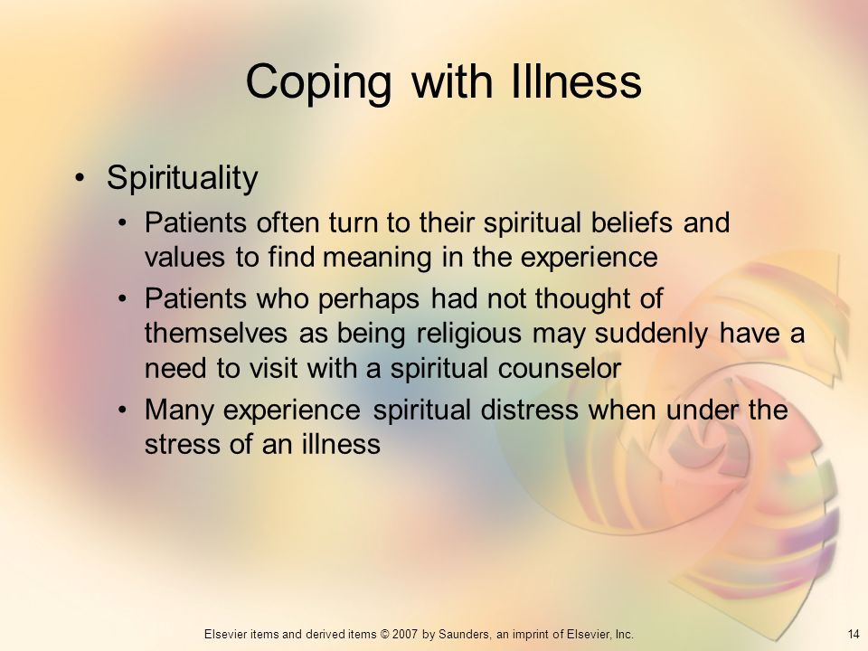 Coping with Illness Spirituality
