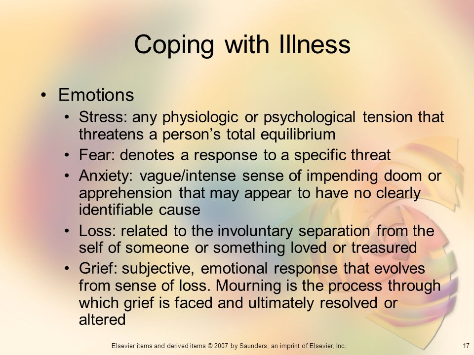 Coping with Illness Emotions