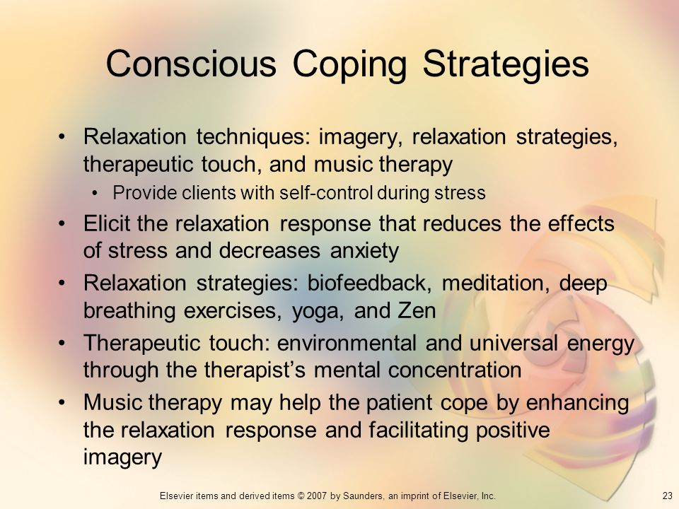 Conscious Coping Strategies