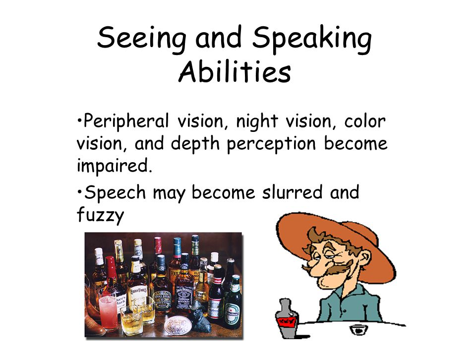 Seeing and Speaking Abilities
