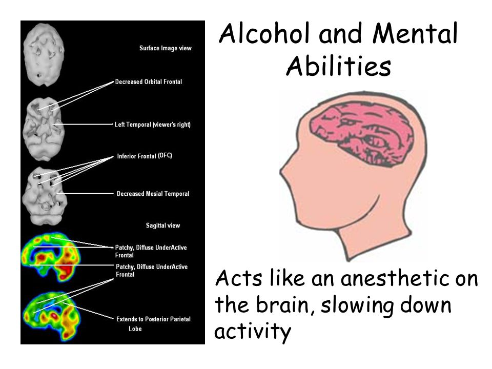 Alcohol and Mental Abilities