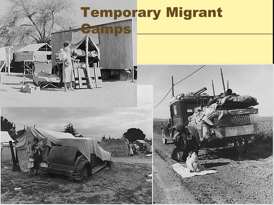 Temporary Migrant Camps