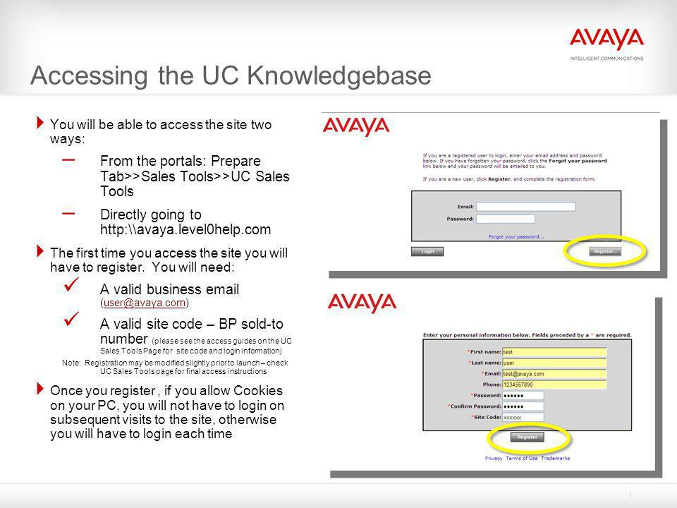Accessing the UC Knowledgebase