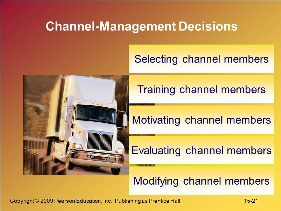 Channel-Management Decisions