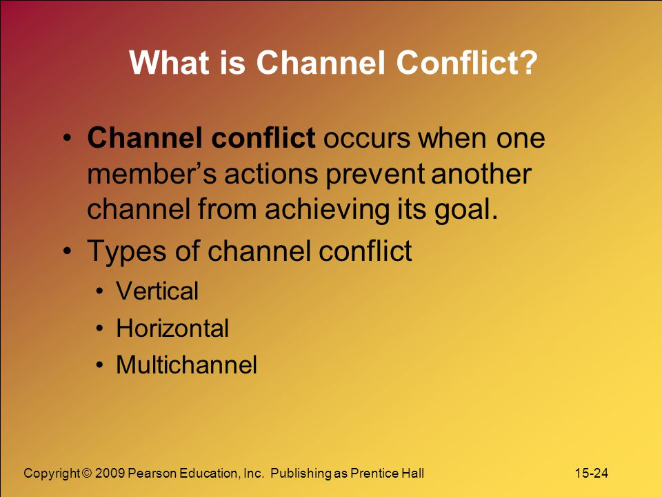 What is Channel Conflict