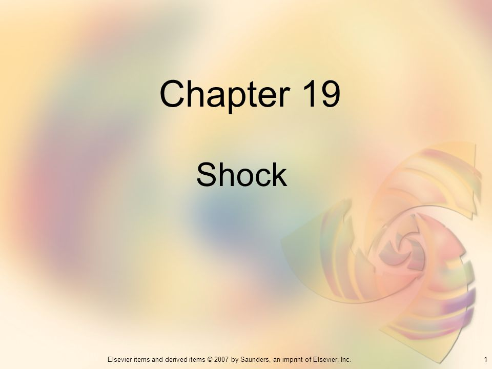 Chapter 19 Shock