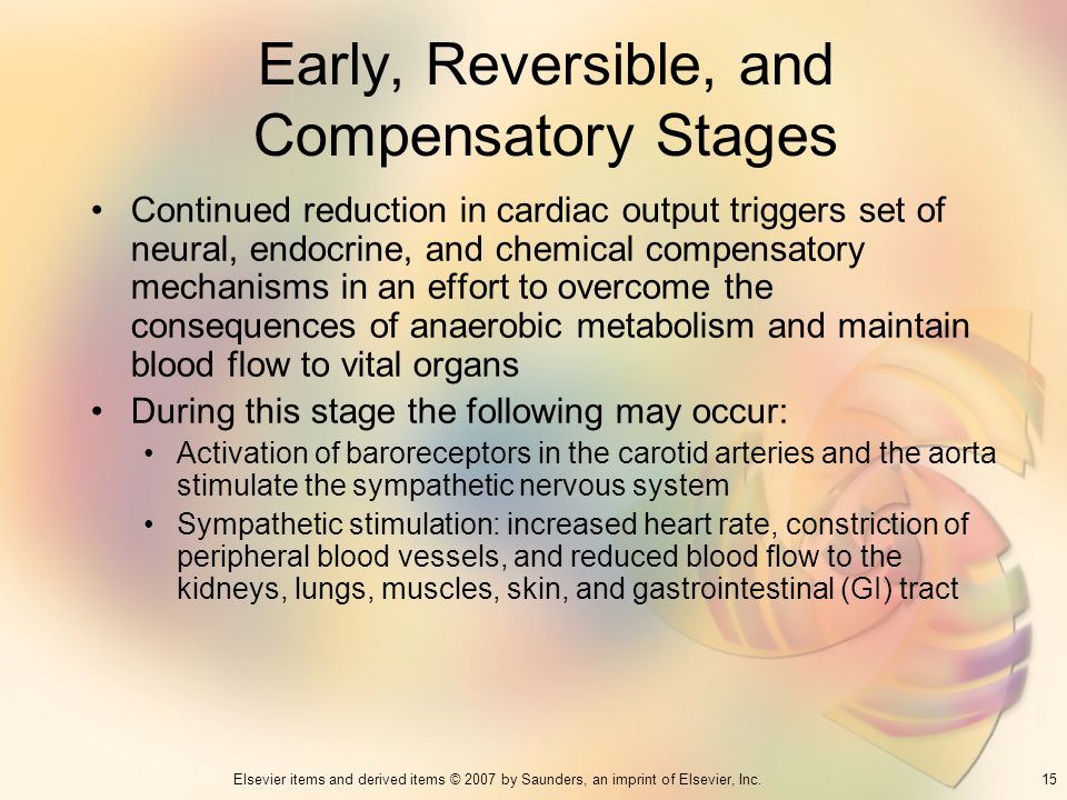 Early, Reversible, and Compensatory Stages
