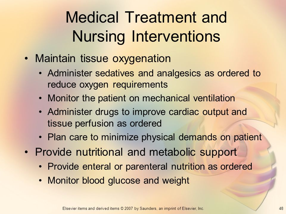 Medical Treatment and Nursing Interventions