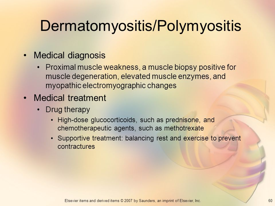 Dermatomyositis/Polymyositis