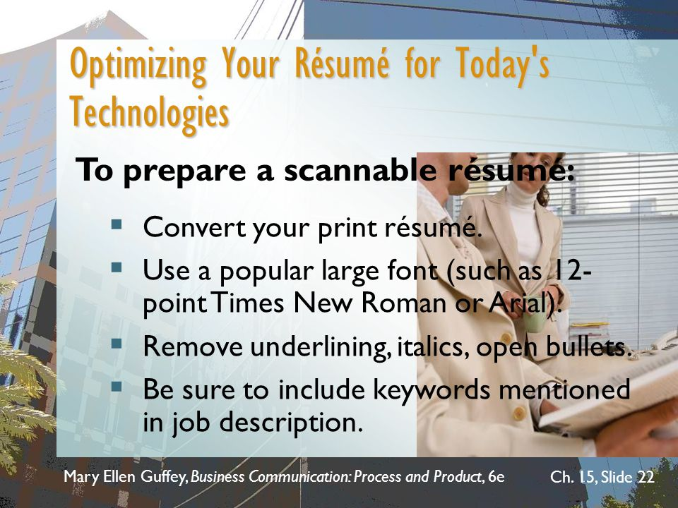 optimizing your career with the electronic resume database Preparing for interview questions should be a big part of your job search powerful resume words that will transform your resume optimize your resume with powerful resume words that showcase your true value to recruiters.