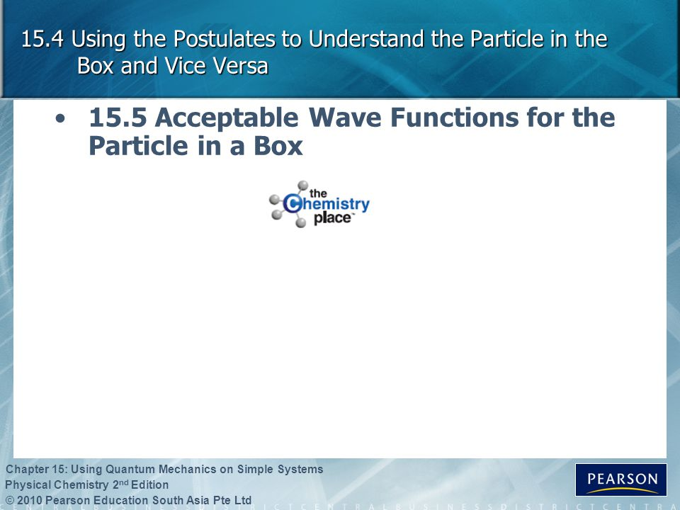 15.5 Acceptable Wave Functions for the Particle in a Box