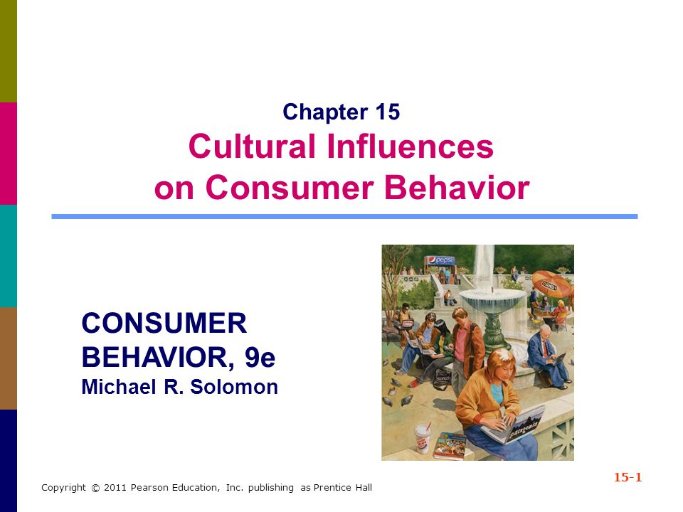 Chapter 15 Cultural Influences on Consumer Behavior