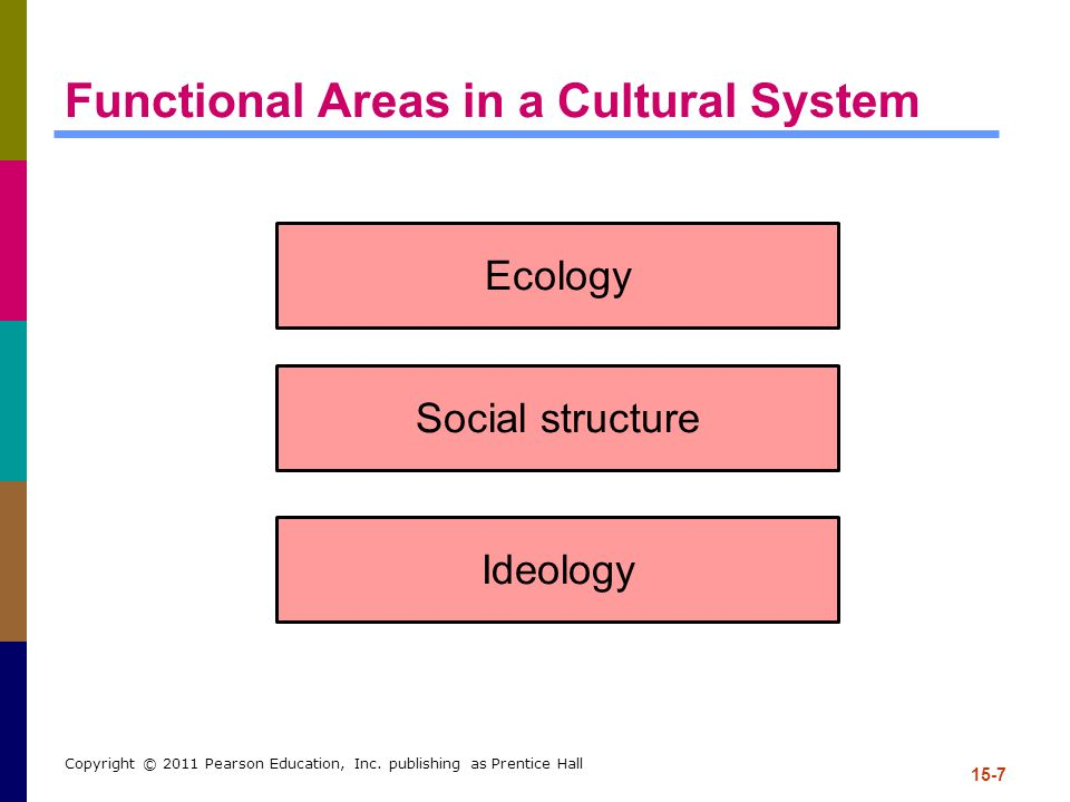 Functional Areas in a Cultural System