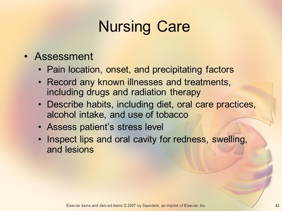 Nursing Care Assessment