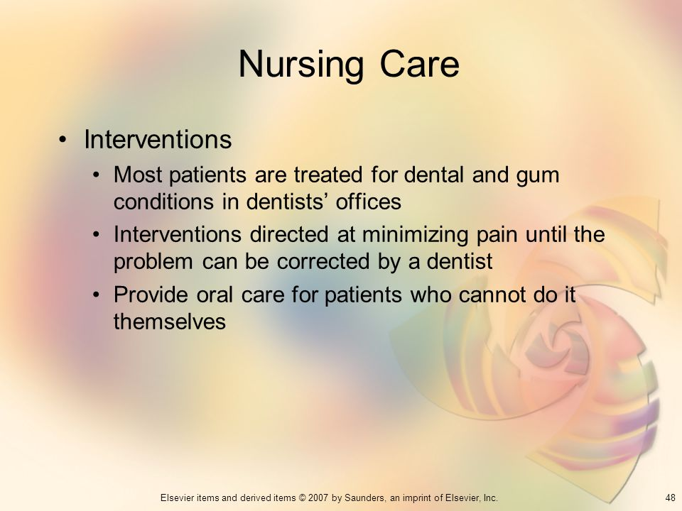 Nursing Care Interventions