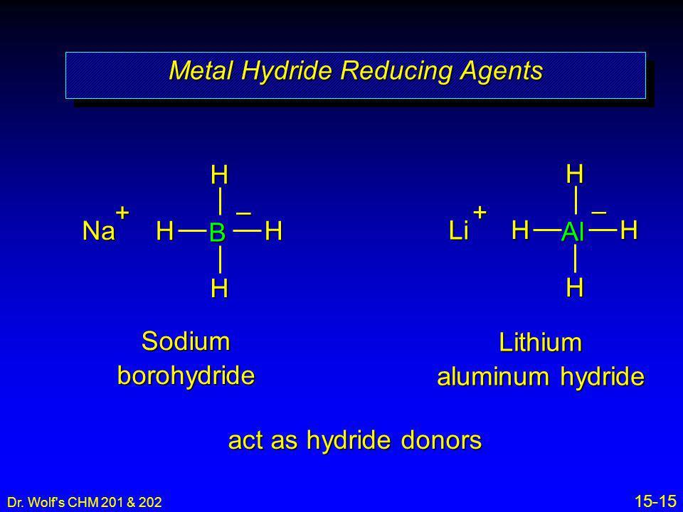 Metal Hydride Reducing Agents