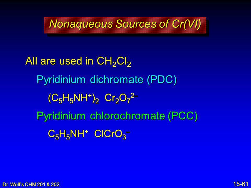 Nonaqueous Sources of Cr(VI)