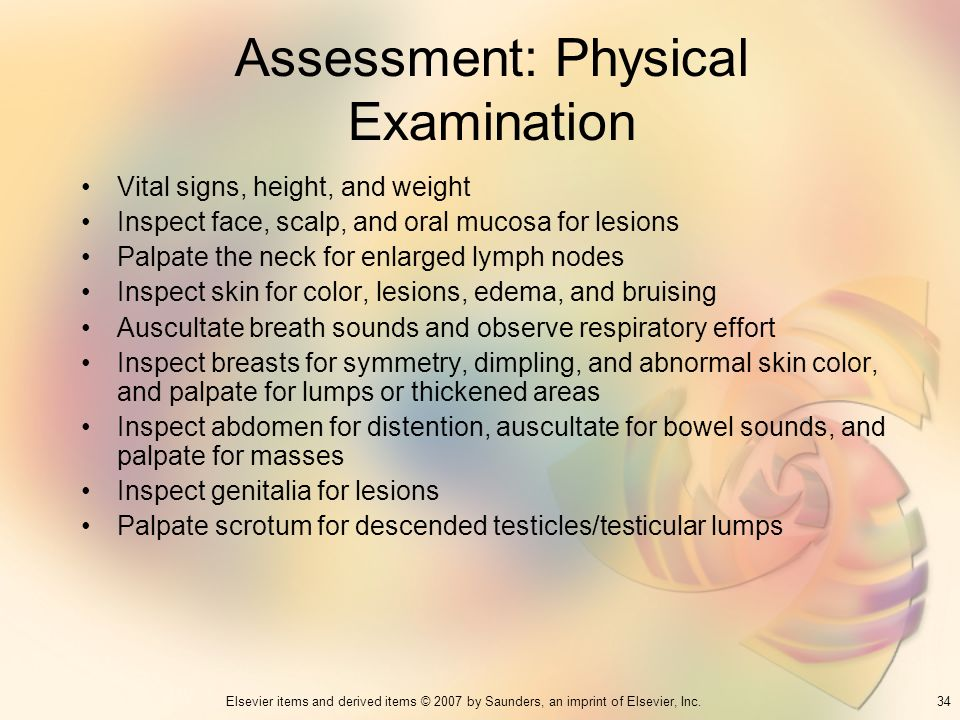 Assessment: Physical Examination