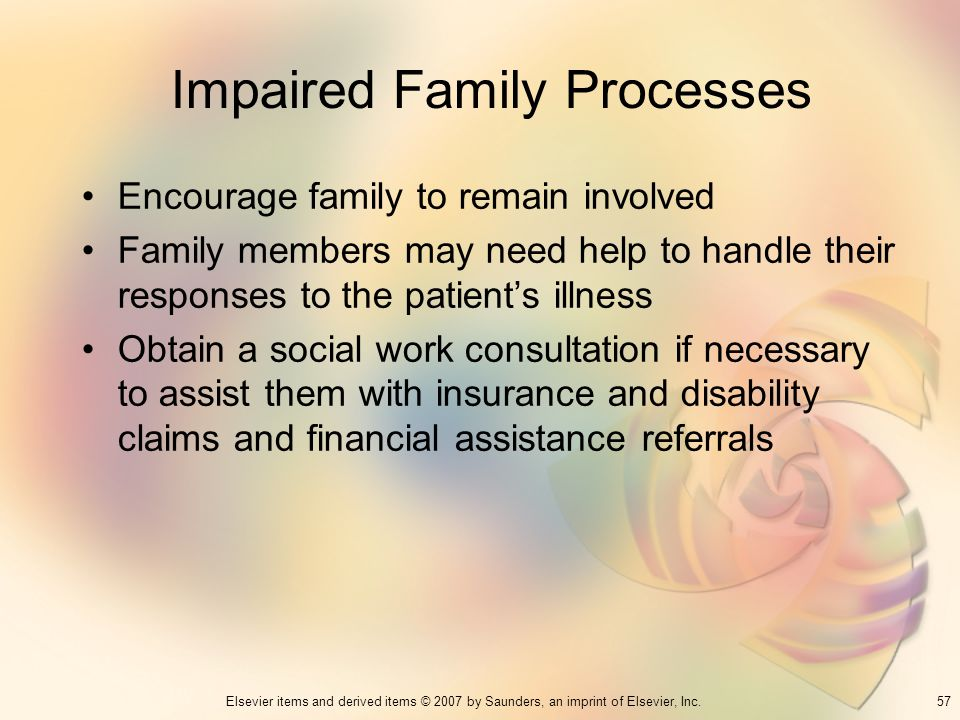 Impaired Family Processes