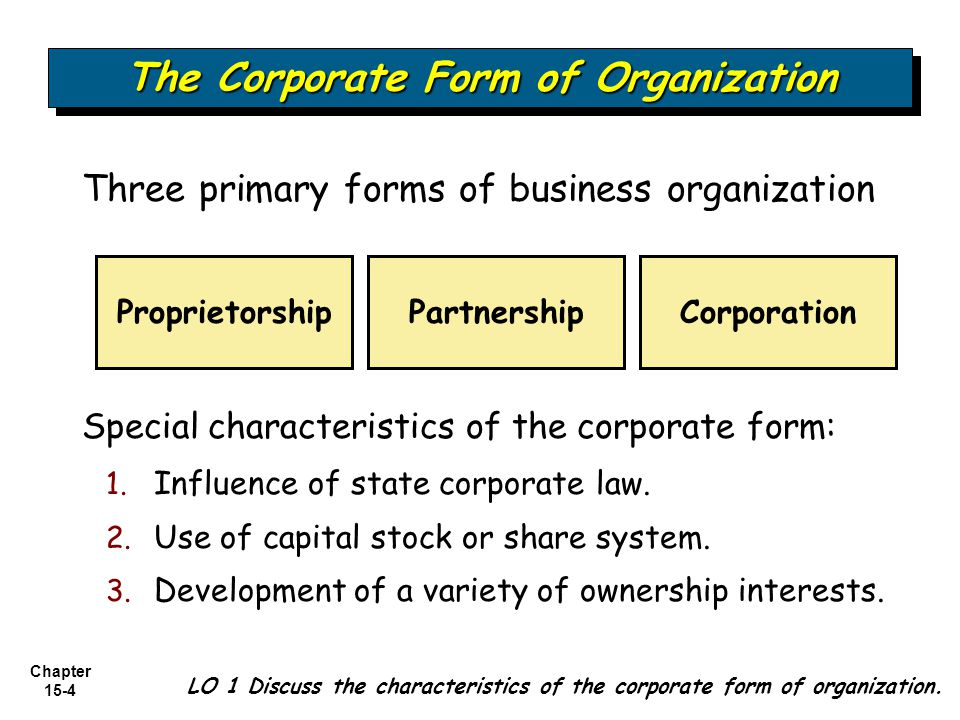 Business Types of Ownership