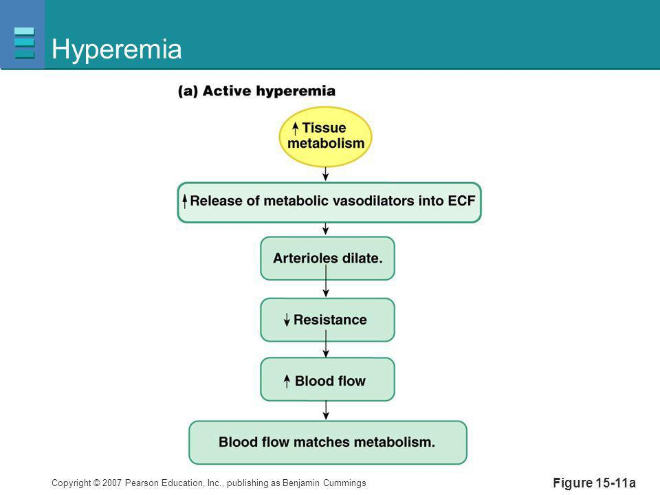 Hyperemia Figure 15-11a