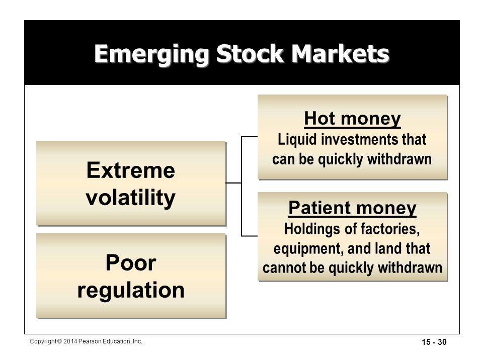 Emerging Stock Markets